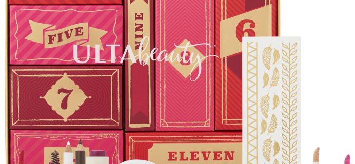 Ulta 12 Days of Beauty Advent Calendar Available Now!