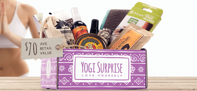 Yogi Surprise February 2019 Lifestyle Box Spoiler #1 & #2 + Coupon!