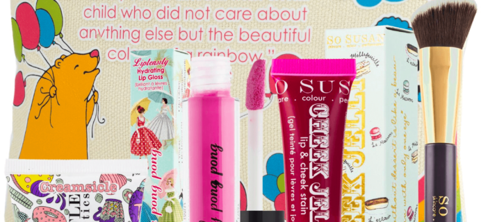 So Susan Lip Love October 2016 Full Spoilers & Coupon!