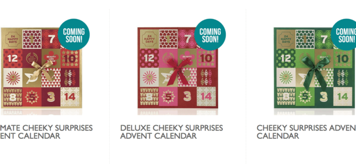 The Body Shop Advent Calendars Price Drop + Coupon Stack = 60% Off + Free Item!