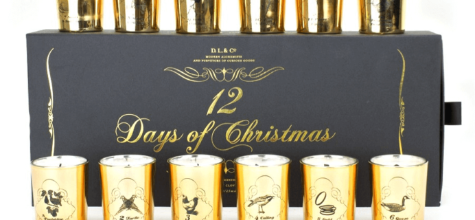 DL & Co 12 Days of Christmas Votive Candle Advent Calendars Available Now + Coupon!