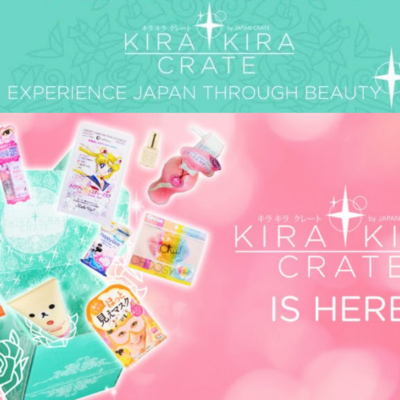 Kira Kira Crate Is Here – New Beauty Box from Japan Crate!