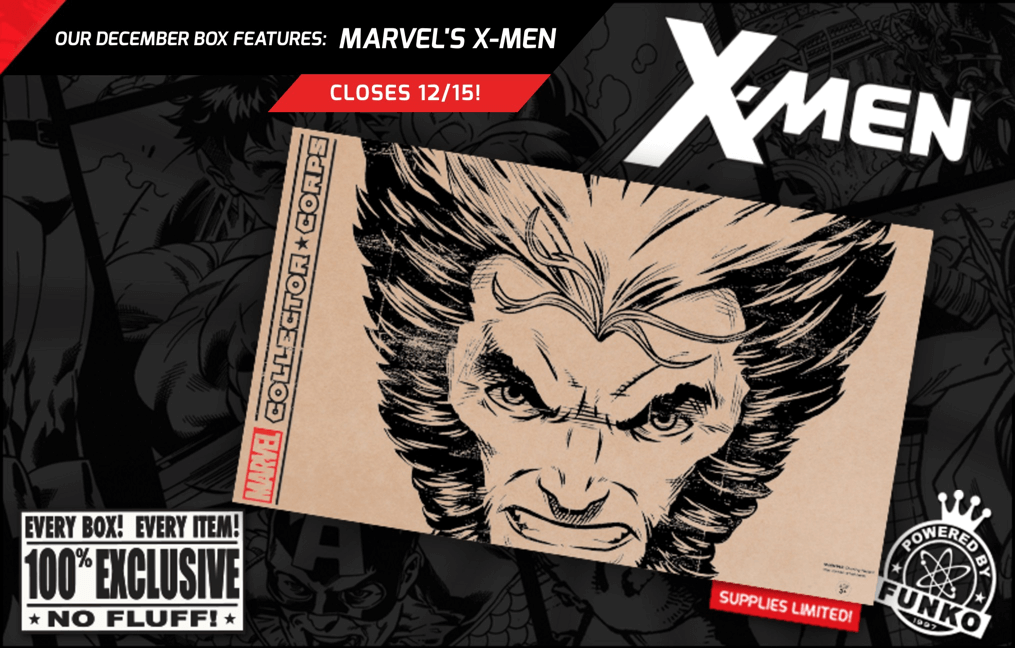 Marvel Collector Corps December 2016 Full Spoilers