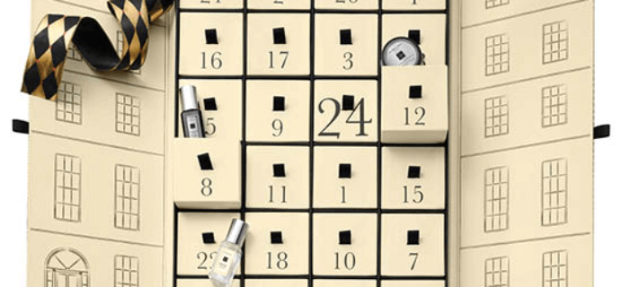 Jo Malone Beauty Advent Calendar Available Now!