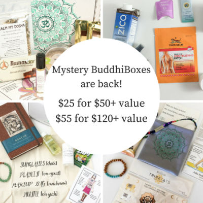 BuddhiBox Mystery Box Available Now!