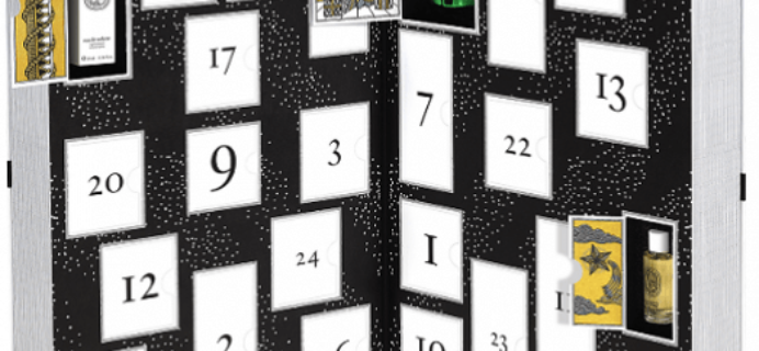 2016 Diptyque Advent Calendar Available Now!