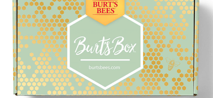 Burt's Bees Limited Edition Box Available Now!