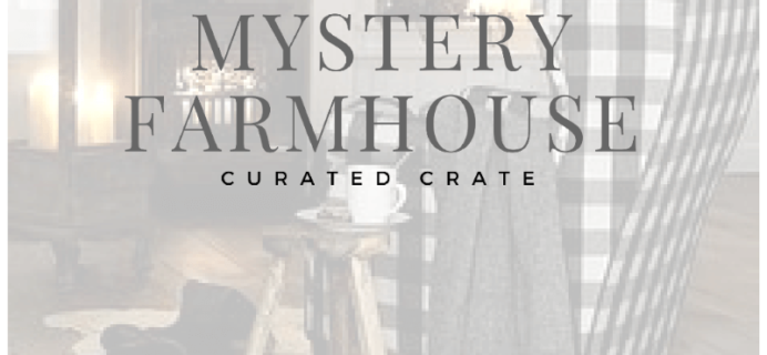 Gable Lane Crates Mystery Crate Is Back!