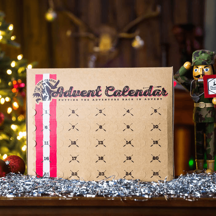 Man Crates Jerky Advent Calendar Available Now!