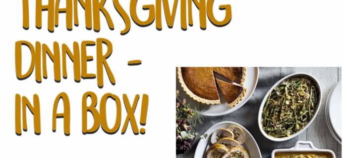 Thanksgiving Dinner In A Box – All the 2019 Thanksgiving Meal Boxes!