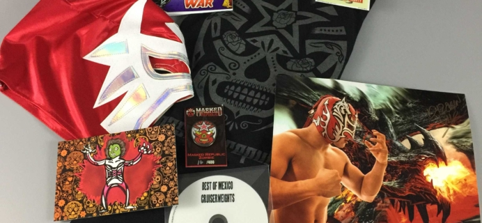 Lucha Loot Subscription Box Review & Coupon – October 2016