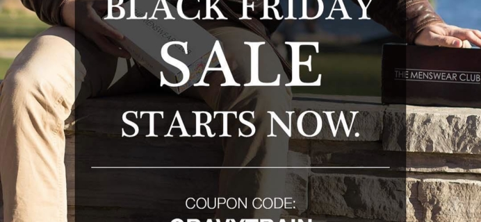 The Menswear Club Deal Black Friday Sale Starts Now! Save 25% On All Subscriptions!