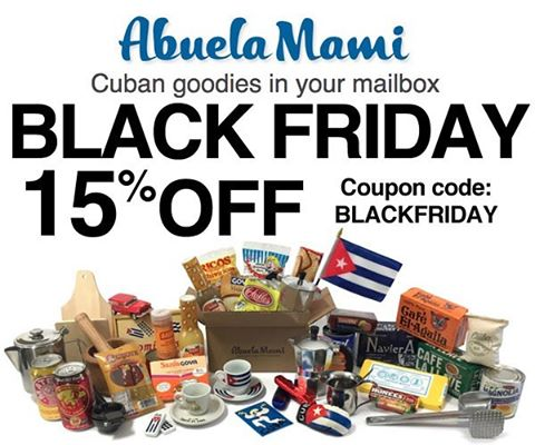 Abuela Mami Black Friday Deal Now Live! Get 15% Off Your First Box of Goodies!