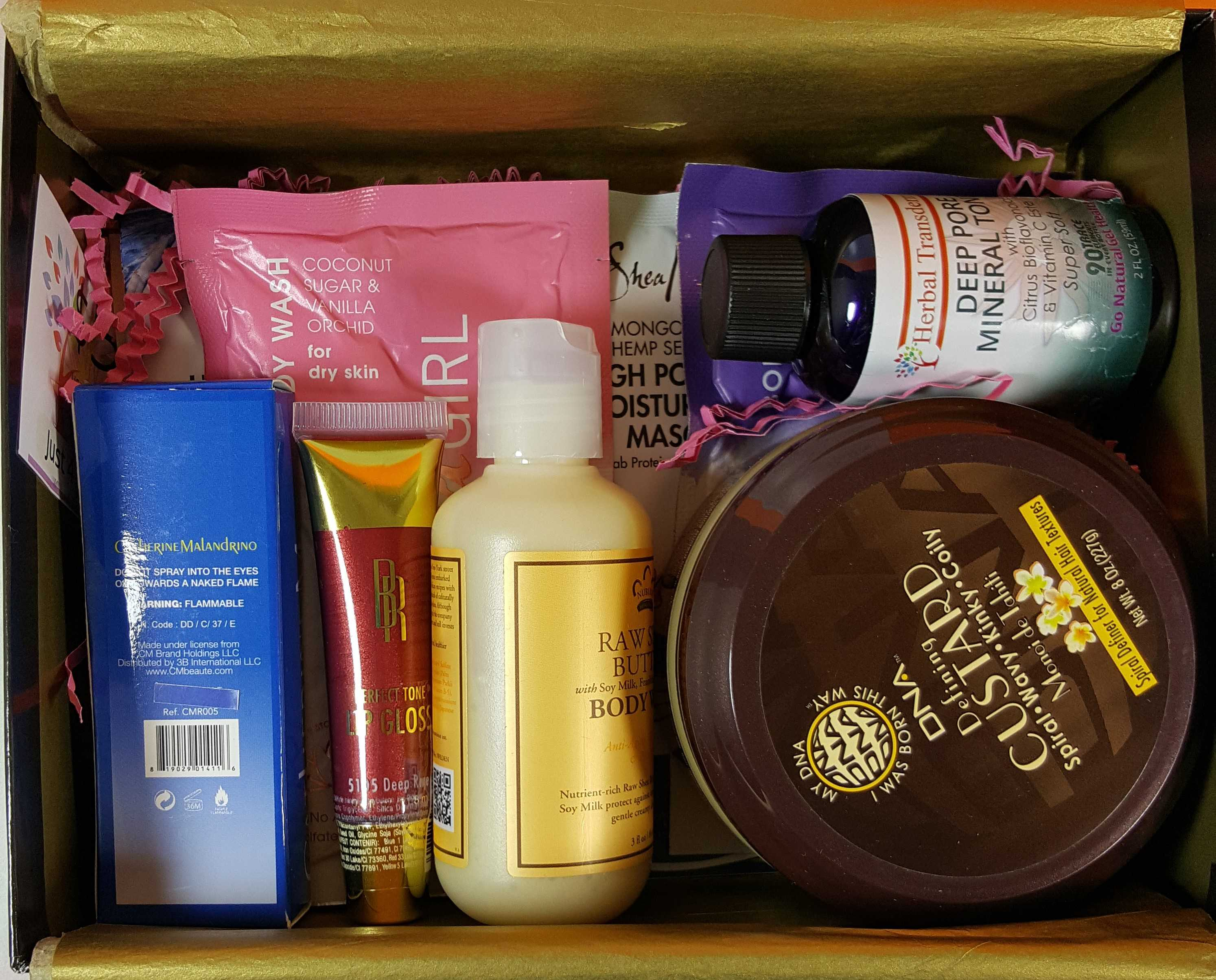 Cocotique October 2016 Subscription Box Review + Coupon