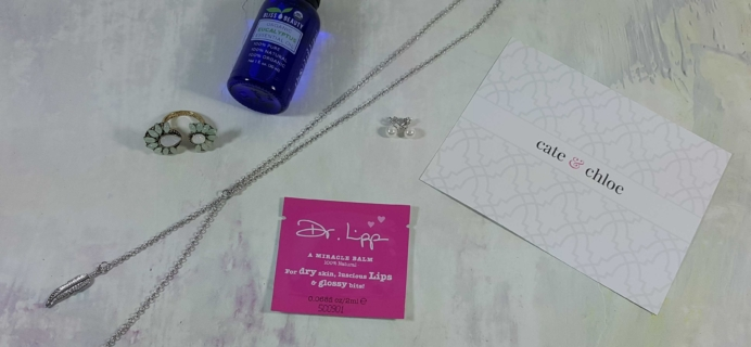 Cate & Chloe VIP Jewelry Subscription Box Review + Coupon – November 2016