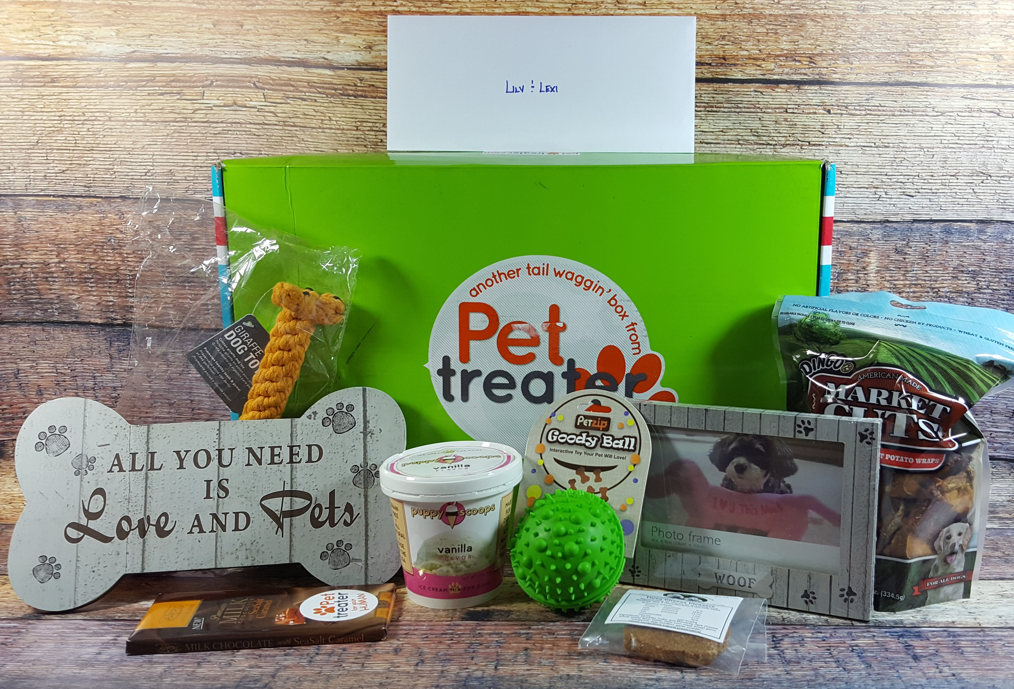 Pet Treater Dog Subscription Box Review + Coupon- November 2016