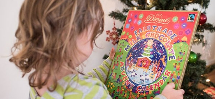 Divine Chocolate Advent Calendar Coupon!