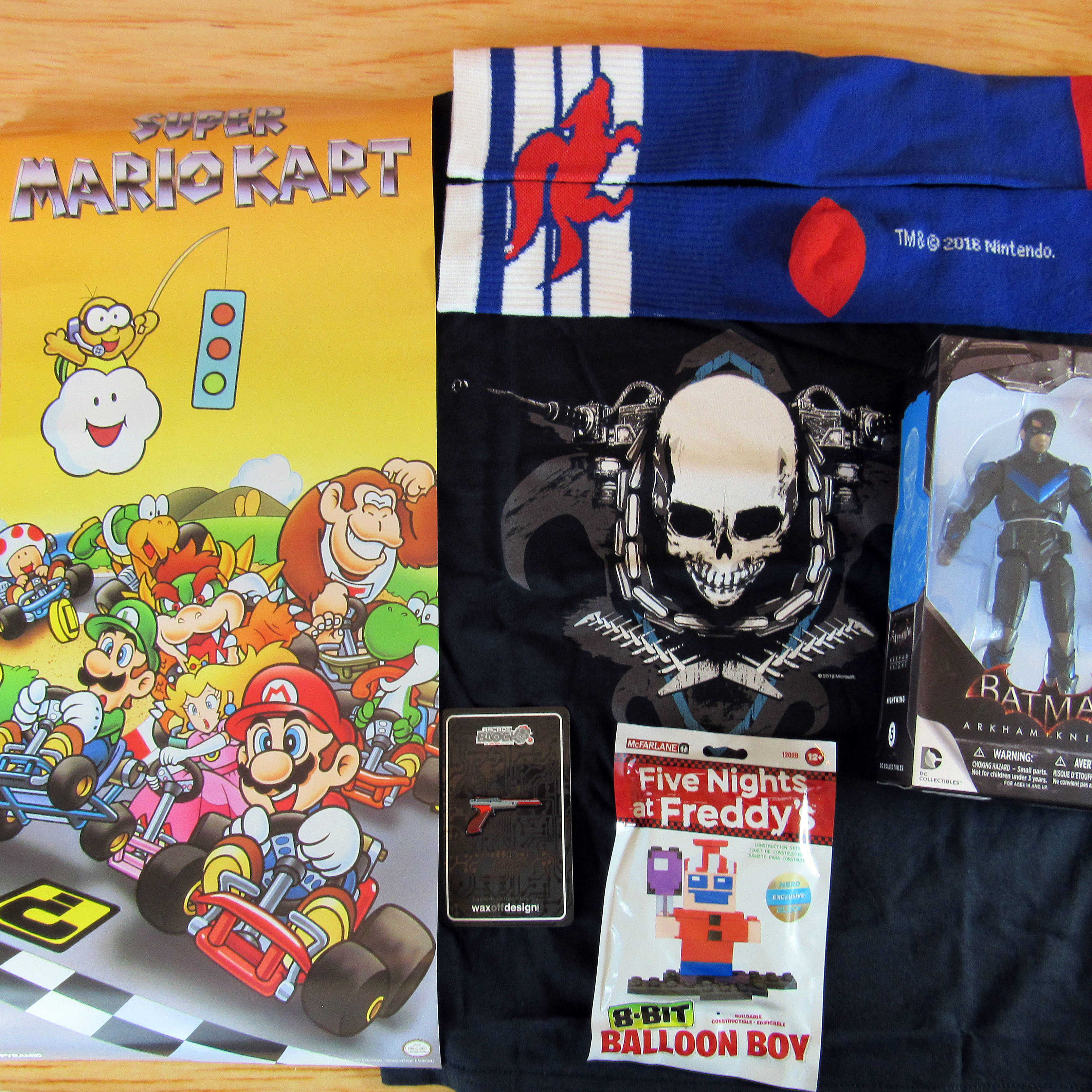 Arcade Block October 2016 Subscription Box Review & Coupon
