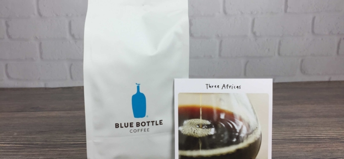 Blue Bottle Coffee Review + Free Trial Offer – November 2016