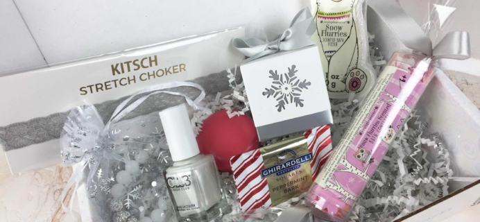 Boodle Box December 2016 Subscription Box Review