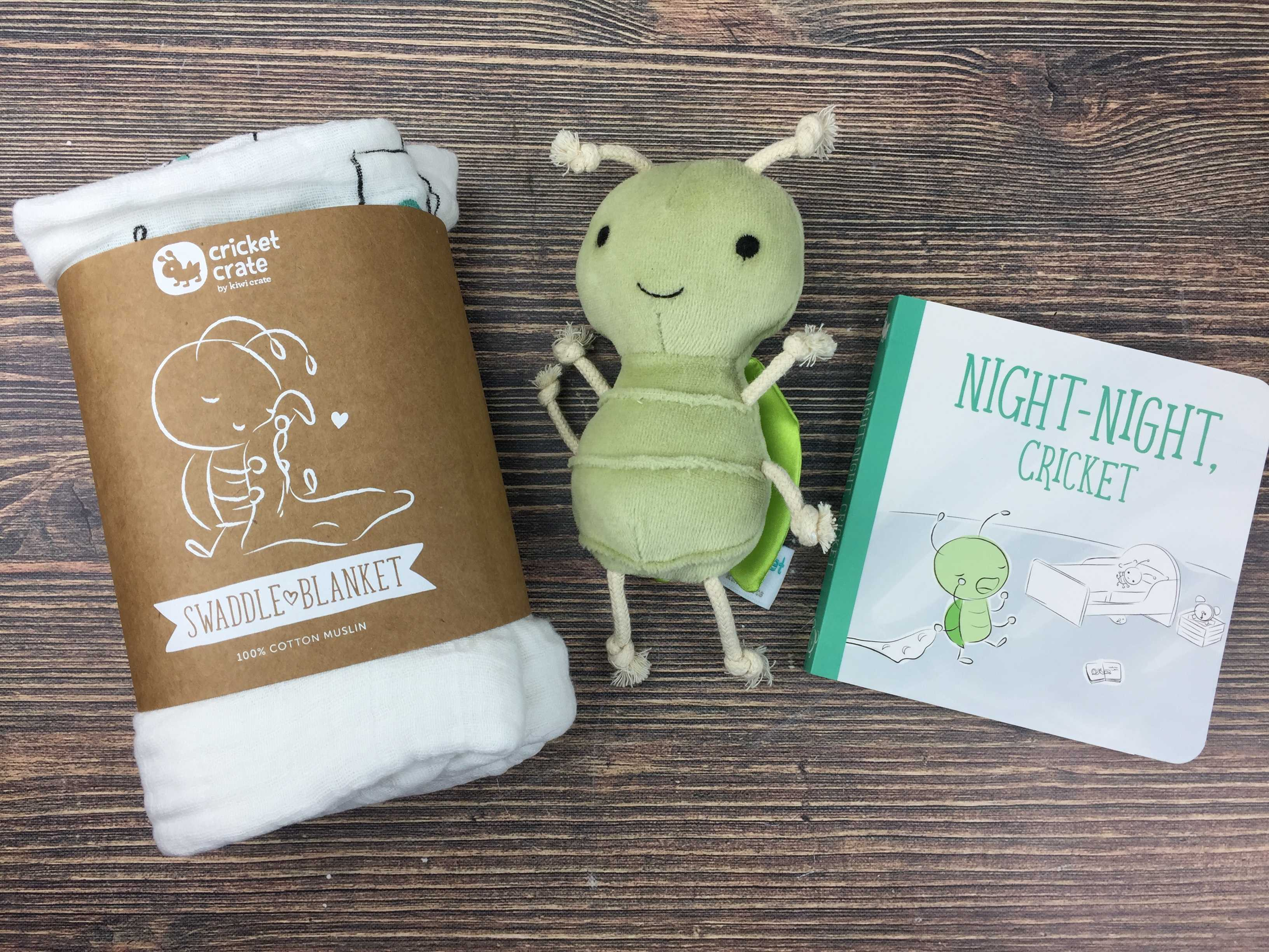 Cricket Crate November 2016 Subscription Box Review + Coupon!