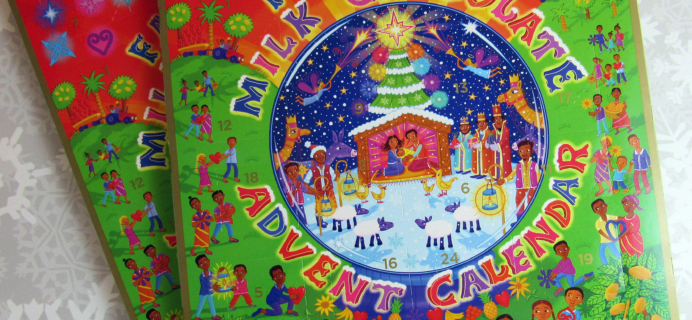 Divine Fair Trade Milk Chocolate Advent Calendar 2016 Mini Review + Coupon