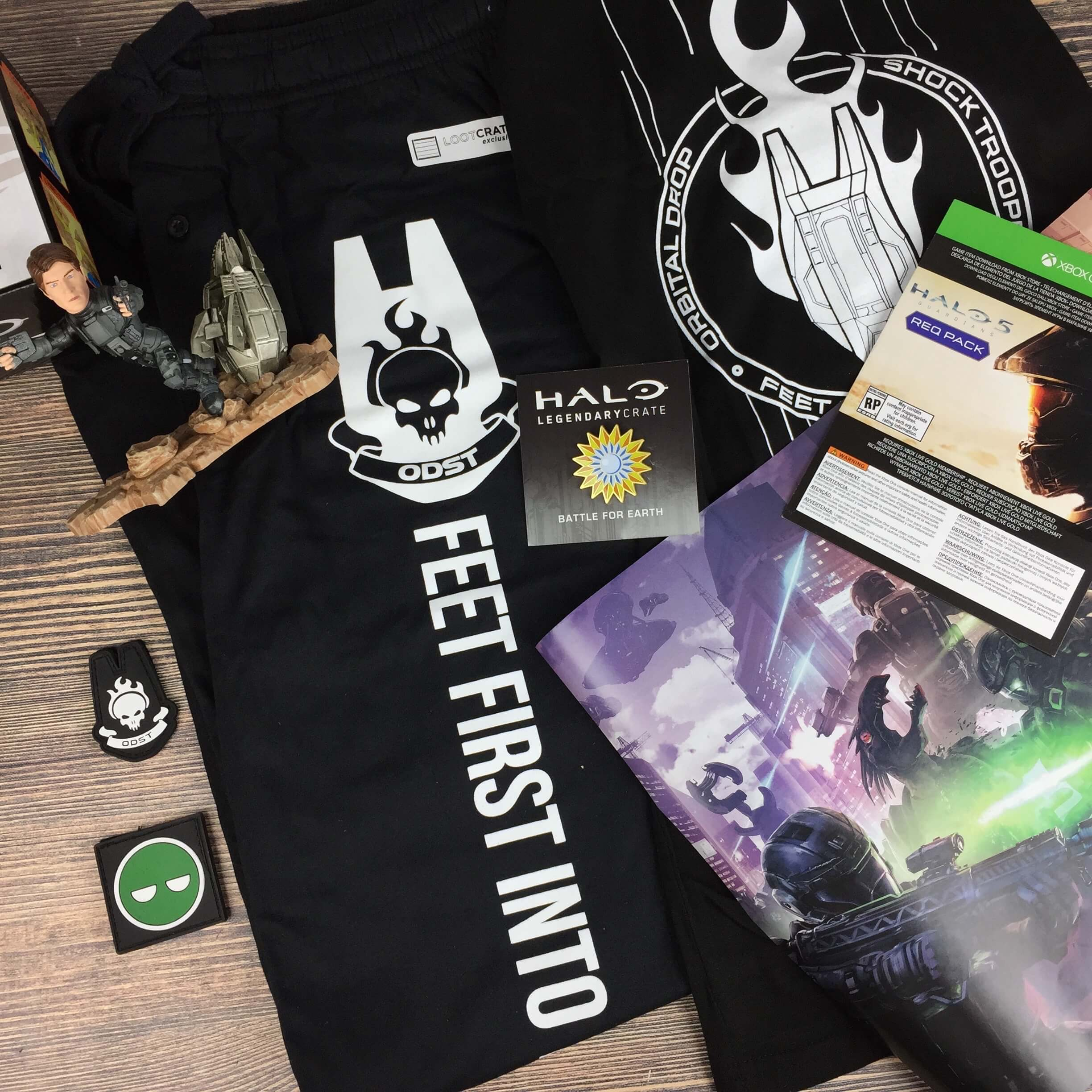 Halo Legendary Crate October 2016 Subscription Box Review + Coupon