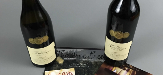 Gold Medal Wine Club November 2016 Subscription Box Review & Coupon