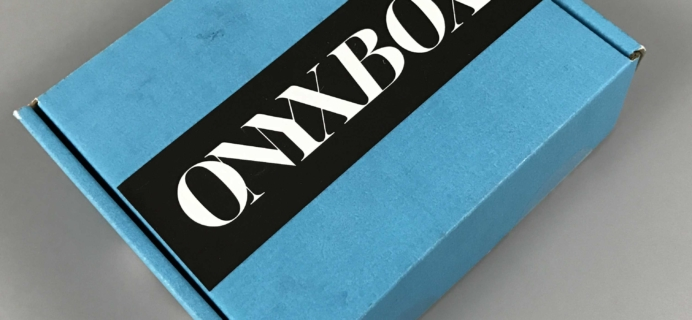 We Are Onyx ONYXBOX November 2016 Subscription Box Review