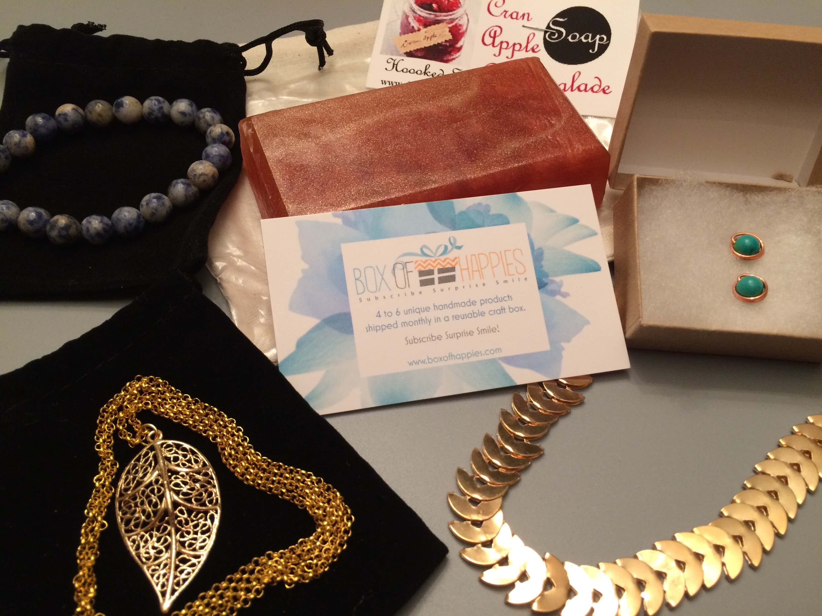 Box of Happies October 2016 Subscription Box Review + Coupon