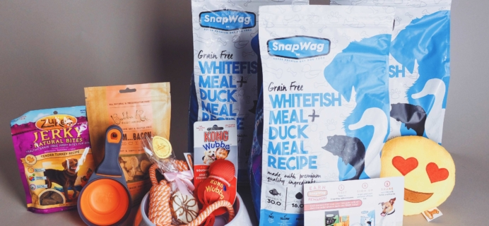 SnapWag Subscription Box Review + Coupon – November 2016