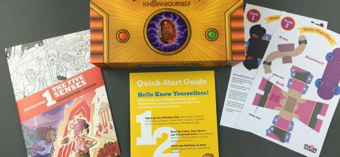 Know Yourself October 2016 Subscription Box Review