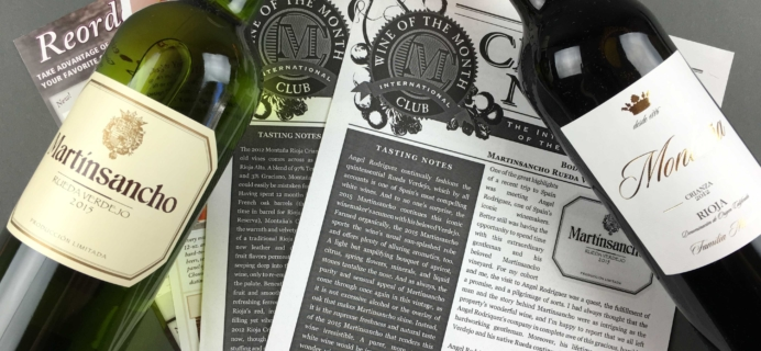 International Wine Club Premier Series October 2016 Review & Coupons