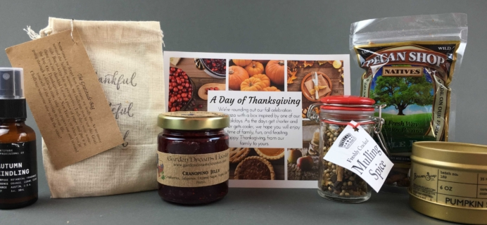 My Texas Market November 2016 Subscription Box Review & Coupon