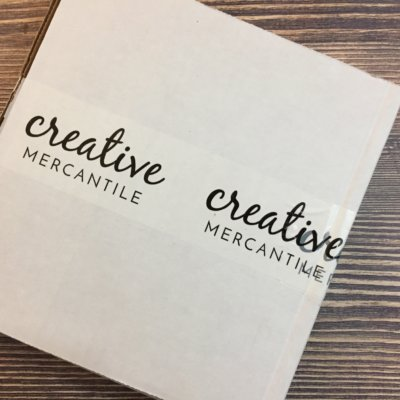 Creative Mercantile September 2016 Subscription Box Review