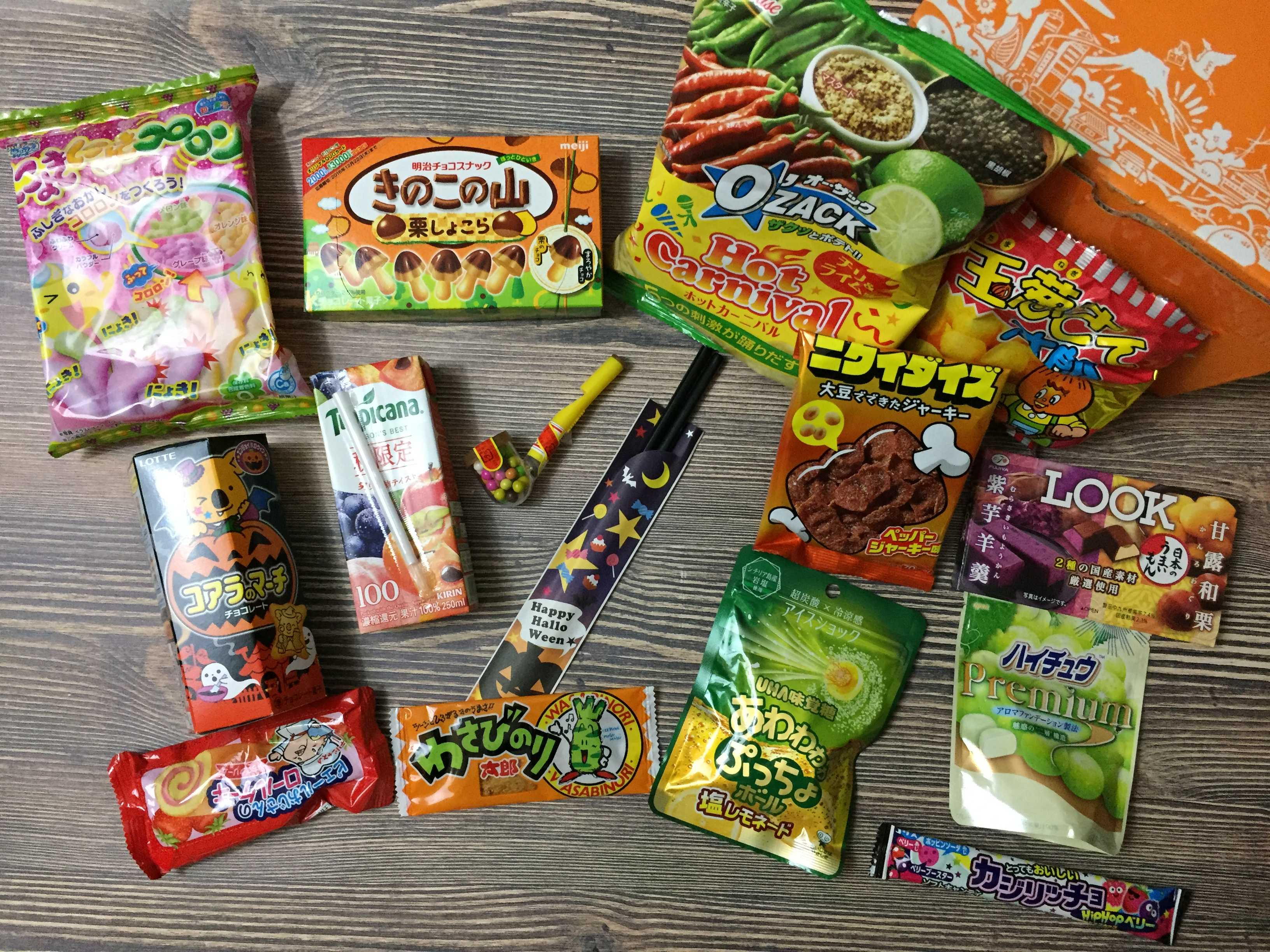 Tokyo Treat October 2016 Subscription Box Review & Coupon