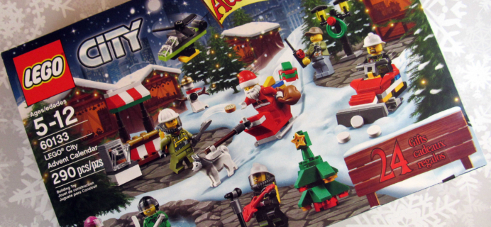 Lego City Advent Calendar 2016 Mini Review