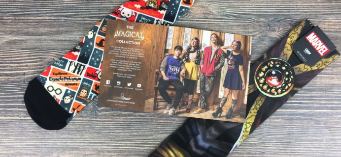 Loot Socks by Loot Crate November 2016 Subscription Box Review & Coupon
