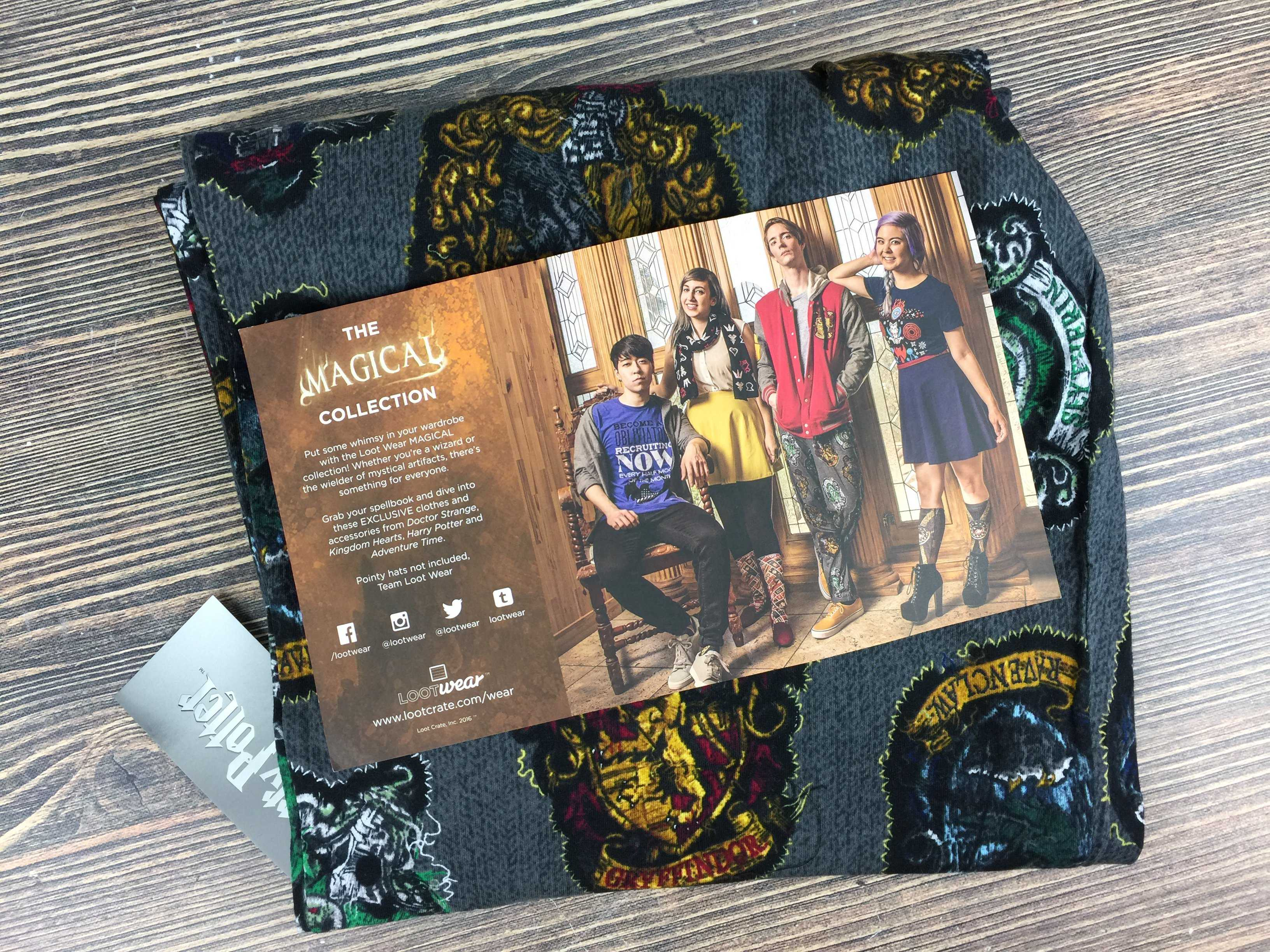 Loot Wearables Subscription by Loot Crate November 2016 Review & Coupon