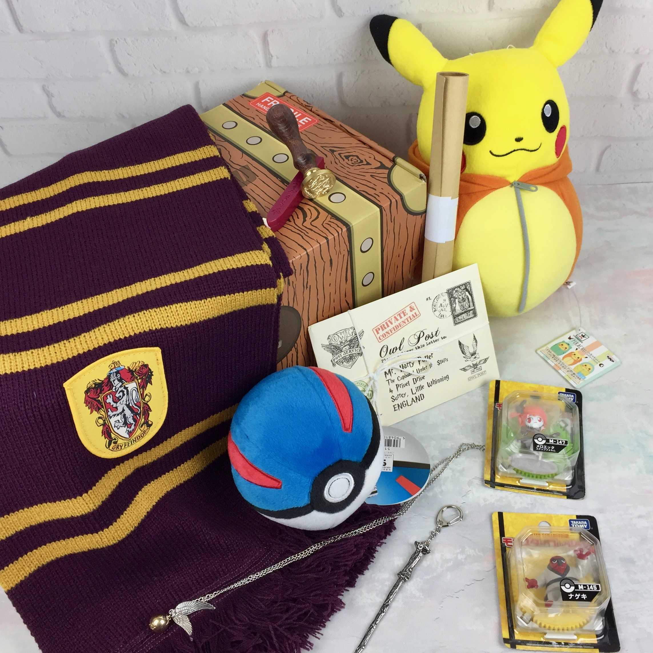 Lootaku October 2016 Subscription Box Review & Coupon