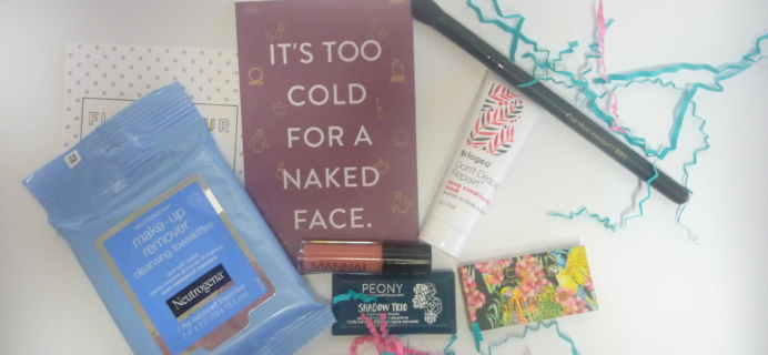 Beauty Box 5 November 2016 Subscription Box Review & Coupon