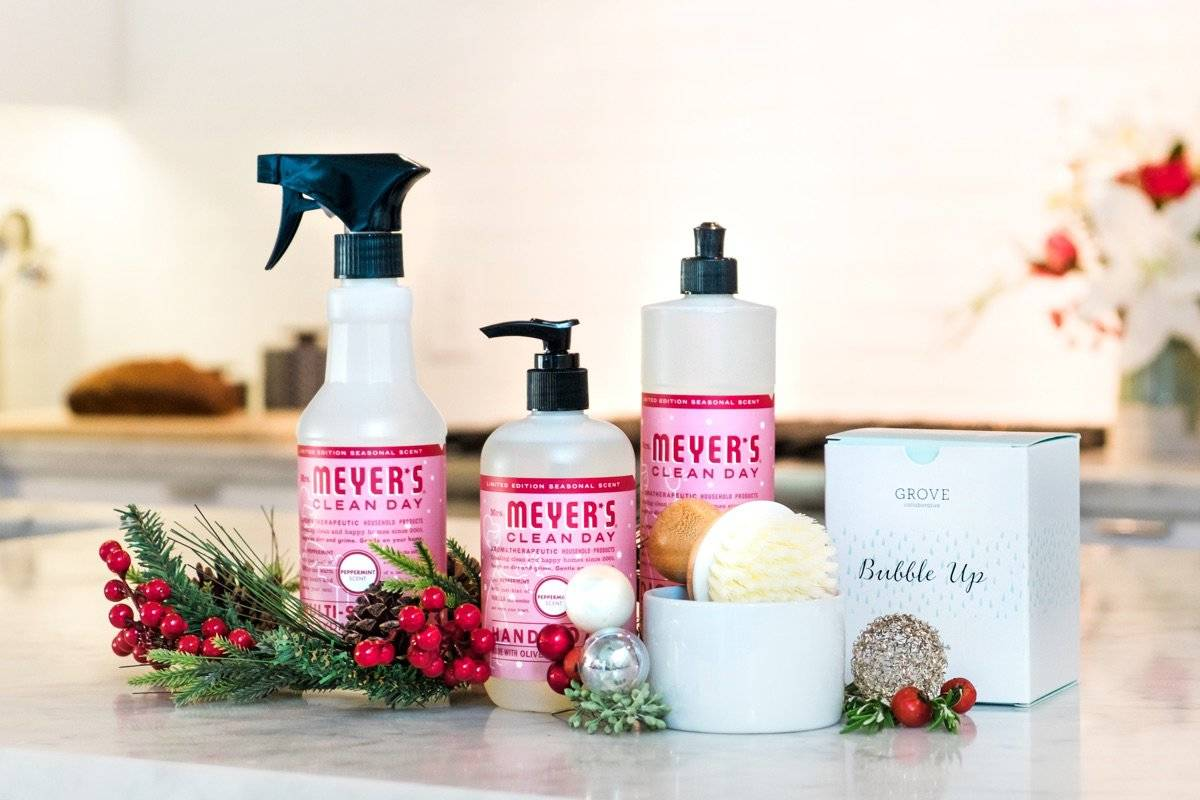 Grove Collaborative: Three FREE Mrs. Meyers Items with Subscription + Holiday Scents Now Available!