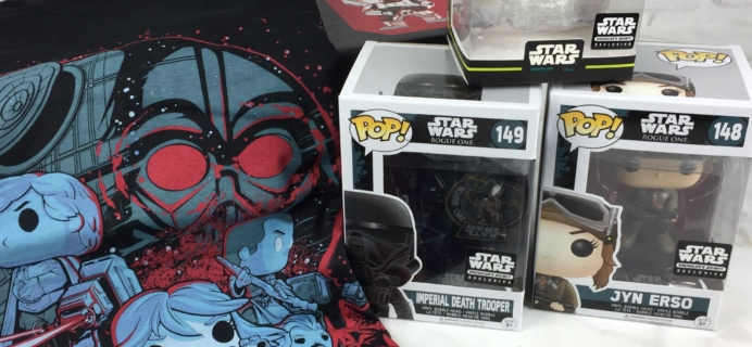 Smuggler's Bounty November 2016 Subscription Box Review – Rogue One!