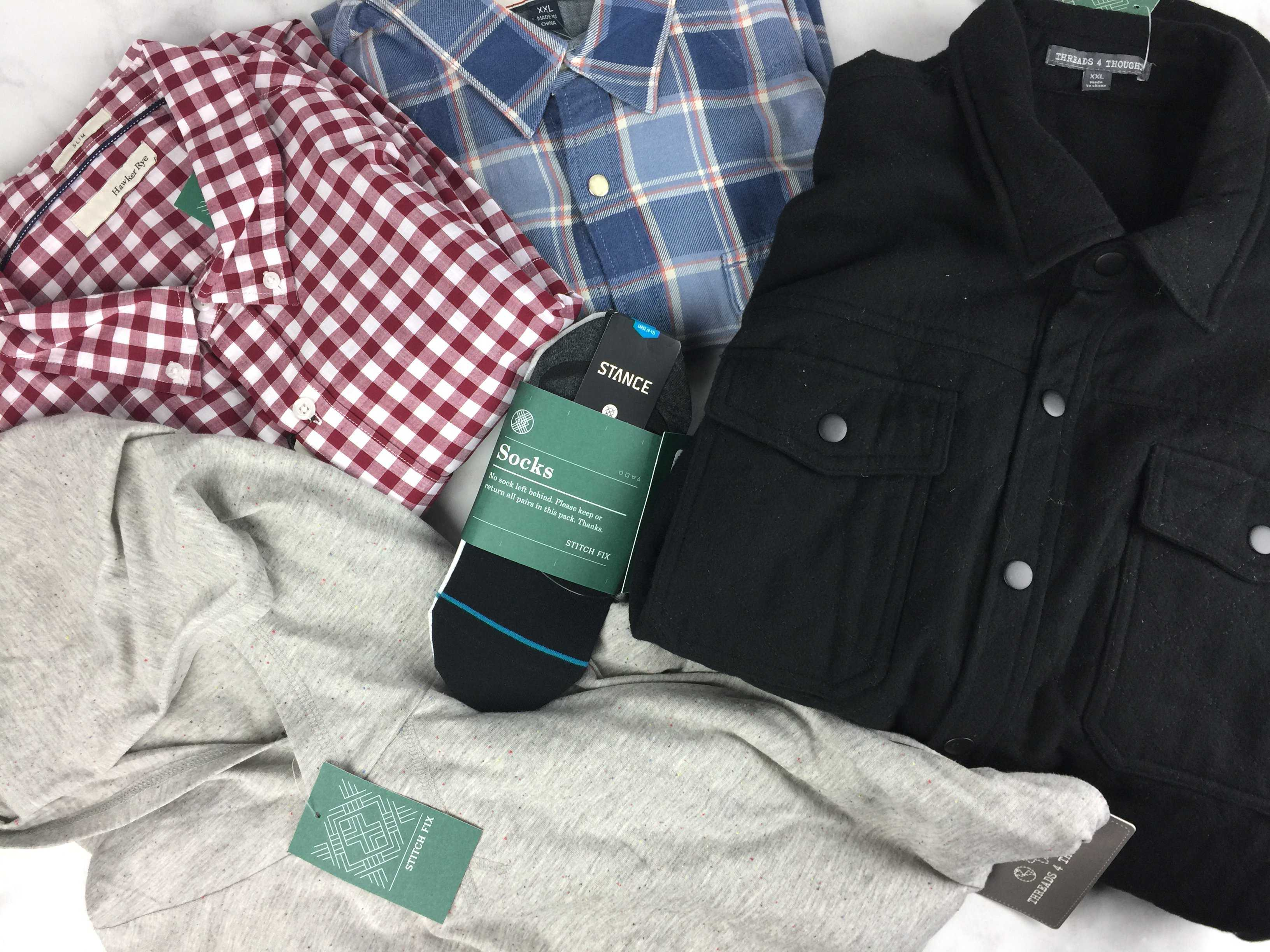 Stitch Fix Men November 2016 Review