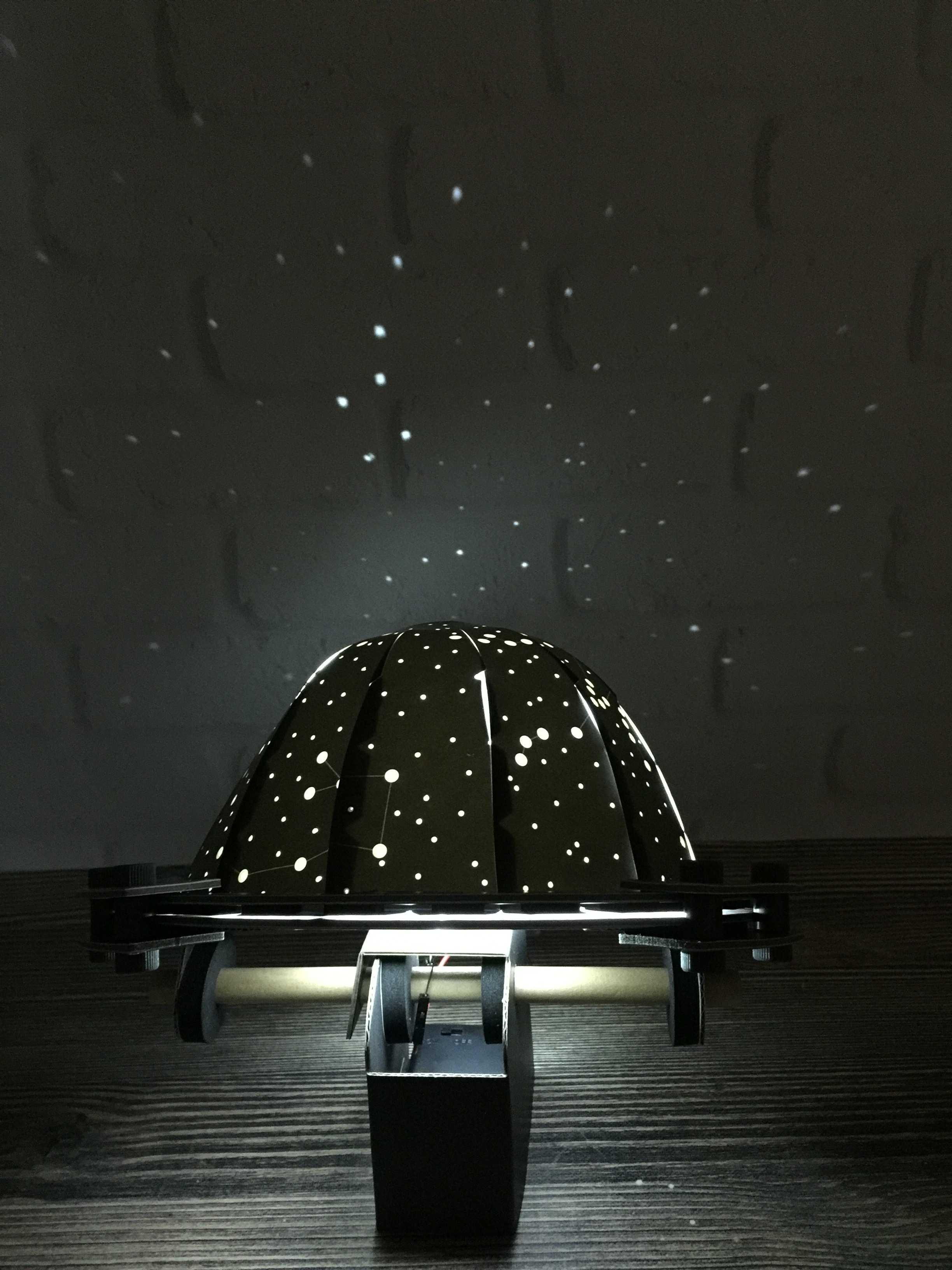 Tinker Crate October 2016 Review & 50% Off Coupon – Light-Up Planetarium!