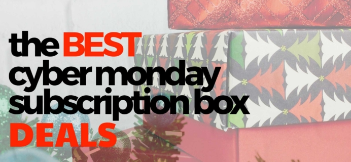 The 29 Best Cyber Monday Subscription Box Sales!