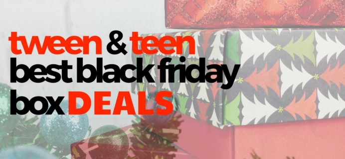 Best 2019 Black Friday Subscription Box Deals for Tweens & Teens!