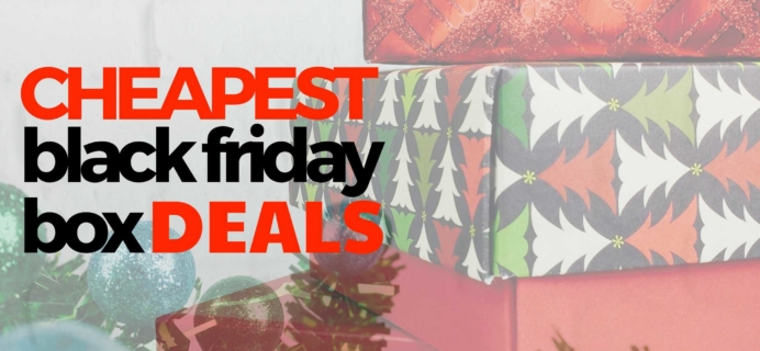 The Cheapest Subscription Box Deals for Black Friday 2016!