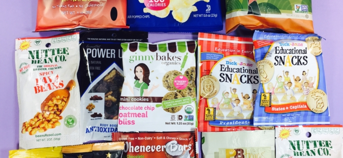 Snack Sack November 2016 Subscription Box Review & Coupon