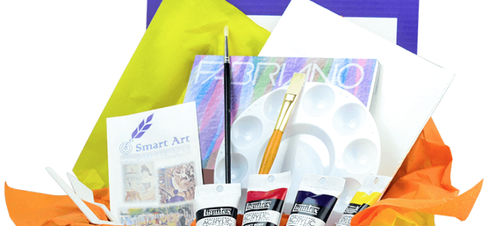 Smart Art Box February 2018 Full Spoilers + Coupon – Last Chance!